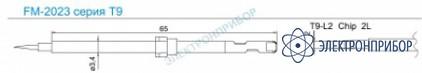 Паяльные сменные композитные головки для термопинцета fм-2023 T9-L2