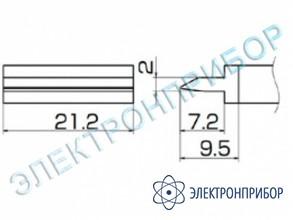 Паяльная сменная композитная головка для станций fx-950/ fx-951/fx-952/fm-203 T12-1403