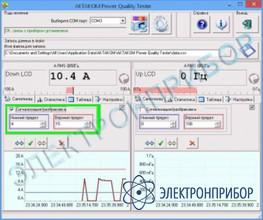 Программное обеспечение для токовых клещей APQT