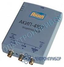 Цифровой запоминающий usb осциллограф АКИП-4107