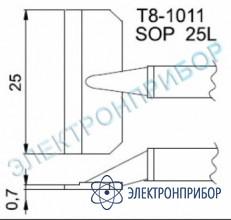 Паяльные сменные композитные головки для термопинцета fм-2022 T8-1011