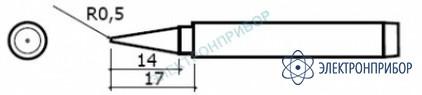 Сменные головки для паяльников hakko 984, hakko 985 980-T-B