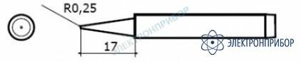 Сменные головки для паяльников hakko 984, hakko 985 980-T-BI