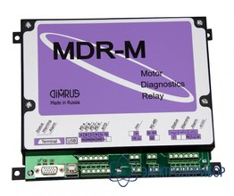 Система мониторинга технического состояния генераторов и высоковольтных электродвигателей MDR-3/HF