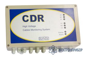 Система мониторинга технического состояния высоковольтных кабельных линий CDR 3 канала