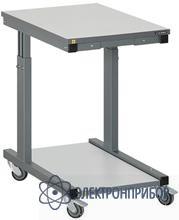 Стол подкатной, антистатическое исполнение ПС-07 Комфорт ESD