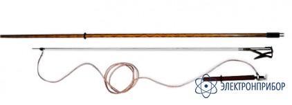 Заземление переносное для раздельного заземления проводов каждой фазы на воздушных линиях 110-220 кв ПЗ 110-220Н (сеч. 25 мм2)
