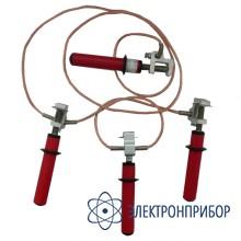 Заземление переносное (до 1 кв) ПЗРУ-1Н (сеч.70 мм2)