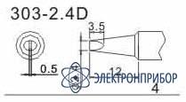 Насадка паяльная для quick 303-2,4D