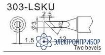 Насадка паяльная для quick 303-SK
