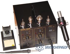 Двухканальная паяльная станция Quick-704 ESD