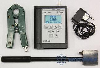 Поиск зоны дефектов в изоляции статора генераторов и высоковольтных электродвигателей R300