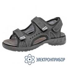 Антистатические мужские сандалии из натурального нубука ROM