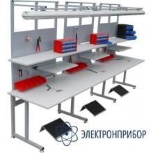 Стол рабочий антистатический С6-1200x650 ESD(средний)