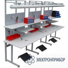 Стол рабочий антистатический С6-1500x650 ESD(левый)
