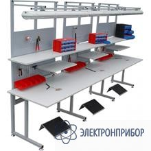 Стол рабочий С6-1500(левый)