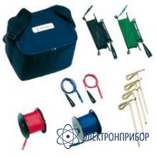 Комплект для измерения сопротивления заземления, 50 м S2007