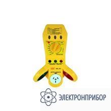 Многофункциональный («4 в1») тестер-индикатор электрических сетей DEL-101
