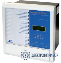Микропроцессорное устройство защиты систем сборных шин напряжением 35–220 кв с числом присоединений до 12 Сириус-3-ДЗШ-02