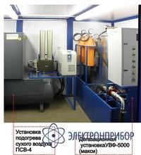 Установка для сушки твердой изоляции СИТ-110