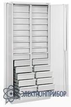 Шкаф для хранения комплектующих, антистатическое исполнение ШКХ-2 ESD