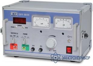 Установка для проведения испытаний напряжением сверхнизкой частоты СНЧ-60КП