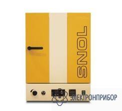 Электропечь SNOL 120/300 LFN из нержавеющей стали с электронным терморегулятором