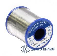 Припой олово-свинцовый с флюсом SP63-37&QQ-200 1mm S-26