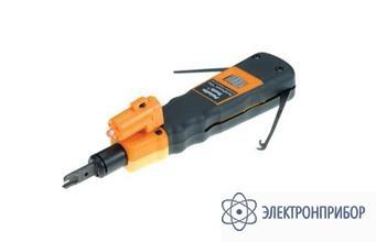 Ударный инструмент surepunch pro pdt с двойным лезвием 110 с фонариком PT-3584