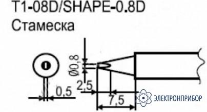 Паяльные сменные композитные головки для станции 941 T1-08D