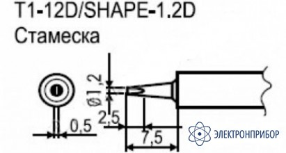 Паяльные сменные композитные головки для станции 941 T1-12D