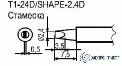 Паяльные сменные композитные головки для станции 941 T1-24D