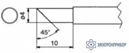 Паяльные сменные композитные головки для станции 941 T1-4CF