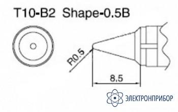 Паяльная сменная композитная головка для станций 938 T10-B2