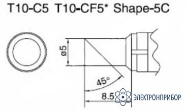 Паяльная сменная композитная головка для станций 938 T10-C5