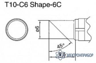 Паяльная сменная композитная головка для станций 938 T10-C6
