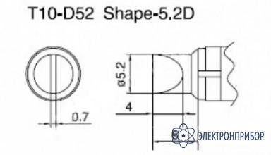 Паяльная сменная композитная головка для станций 938 T10-D52