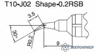 Паяльная сменная композитная головка для станций 938 T10-J02