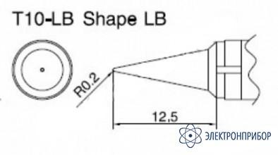 Паяльная сменная композитная головка для станций 938 T10-LB