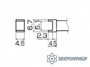Паяльная сменная композитная головка для станций fx-950/ fx-951/fx-952/fm-203 T12-1001