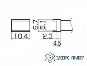Паяльная сменная композитная головка для станций fx-950/ fx-951/fx-952/fm-203 T12-1002