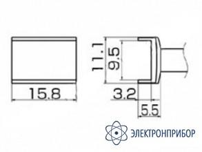Паяльная сменная композитная головка для станций fx-950/ fx-951/fx-952/fm-203 T12-1004