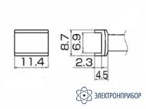Паяльная сменная композитная головка для станций fx-950/ fx-951/fx-952/fm-203 T12-1006