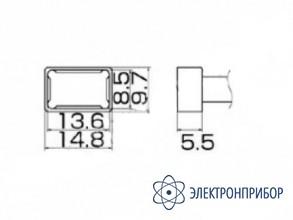 Паяльная сменная композитная головка для станций fx-950/ fx-951/fx-952/fm-203 T12-1201