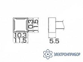 Паяльная сменная композитная головка для станций fx-950/ fx-951/fx-952/fm-203 T12-1202
