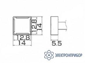 Паяльная сменная композитная головка для станций fx-950/ fx-951/fx-952/fm-203 T12-1204