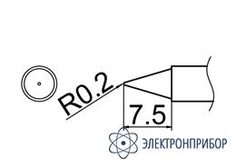 Паяльная сменная композитная головка для станций fx-950/ fx-951/fx-952/fm-203 T12-B