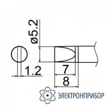 Паяльная сменная композитная головка для станций fx-950/ fx-951/fx-952/fm-203 T12-D52