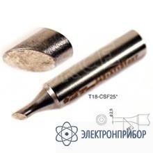 Паяльная сменная головка для паяльника hakko fx-8801esd T18-CSF25