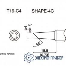 Сменная головка для fx-601 T19-C4
